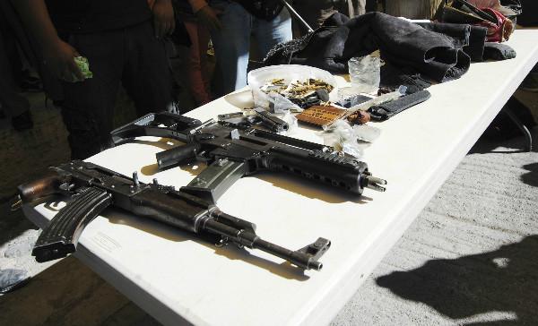 Condenan a seis años a detenidos con armas en Zacatecas