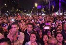 Con saldo blanco y asistencia de 80 mil personas concluyó concierto en el Ángel