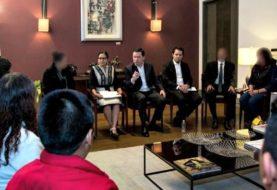 Osorio Chong refrenda apoyo del gobierno a víctimas de secuestro y familiares