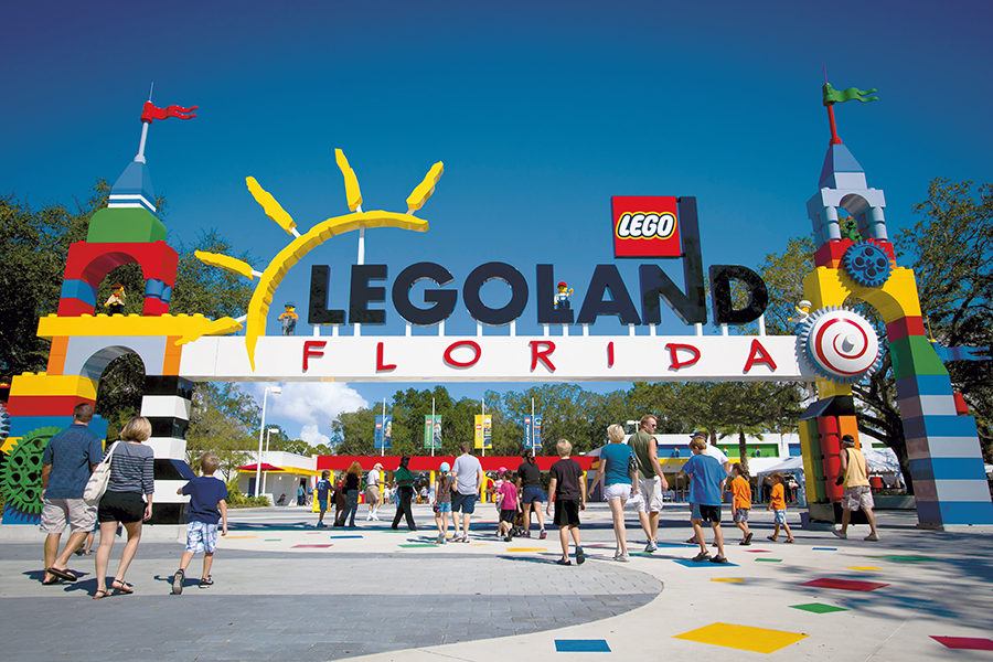 POLK COUNTY, FL – October 7, 2011 -- The public gets the first glimpse during AAA preview days at LEGOLAND® Florida, Central Florida's newest theme park. Opening October 15, 2011 just outside Orlando, LEGOLAND Florida will provide interactive entertainment for families with children ages 2-12 . (PHOTO/LEGOLAND Florida, Merlin Entertainments Group, Chip Litherland).